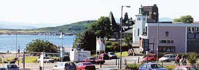 View across Oban Bay